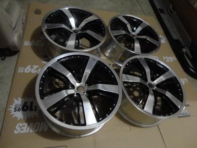 2010 2012 camaro ss set 4 wheels rims 21 oem gm staggered. Black Bedroom Furniture Sets. Home Design Ideas