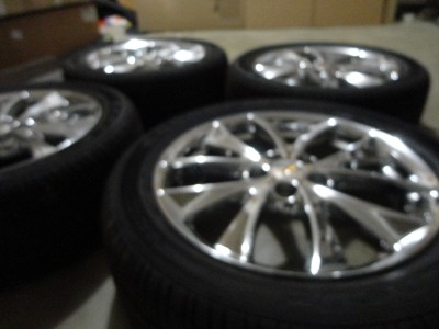 EQUINOX TORRENT GM FACTORY OEM 18CHROME WHEELS & TIRES new take off