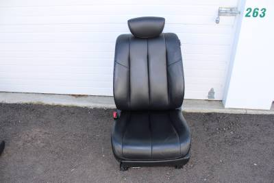 03 07 Nissan Murano Black Leather Driver Seat Side Airbag
