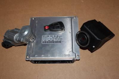 01 mercedes benz w203 c240 c320 ecu engine computer for Mercedes benz ignition key won t turn