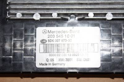 01 07 mercedes w203 c230 c320 front sam module fuse box computer 2035451001 oem ebay