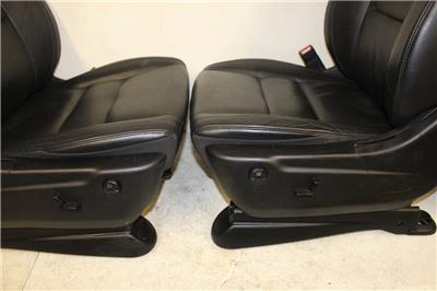 2011 jeep grand cherokee leather black front seats ebay. Black Bedroom Furniture Sets. Home Design Ideas