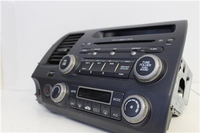 honda civic  coupe xm radio stereo cd mp aux player climate control ebay