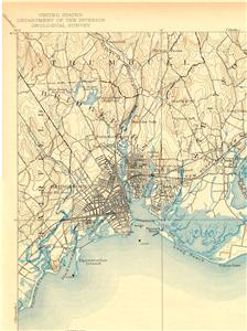 46 vintage usgs topographic maps of connecticut on cd ebay