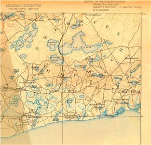 70 Vintage Usgs 15 Topo Maps Of Massachusetts On Cd Ebay