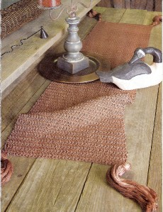 Knitted Table Runner Lace Pattern : KNITTED LACE TABLE RUNNER PATTERNS 1000 Free Patterns