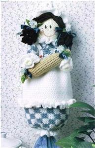 Plastic_bag_holder - Crochet