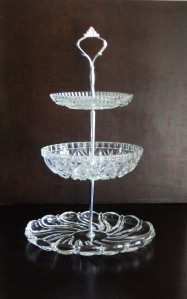 How To Make 3 Tier Vintage Wedding Cake Plate Tiered Stand