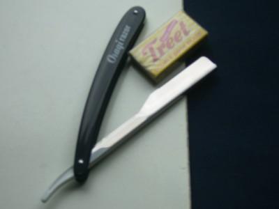 how to put a blade in a cut throat razor