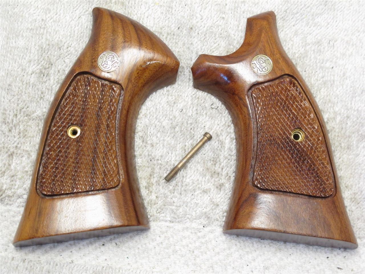 Fábrica apretones de pistola de nogal & WESSON SMITH S&W Marco en K ...