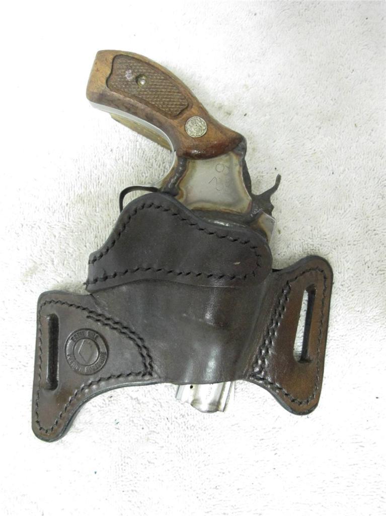Vintage Ernie Hill Cuero de Caballo CCW funda pistola S&W J marco 34 ...