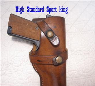 H3 BRAUER BROS. Gun Holster COLT 1911 45 & Woodsman ...
