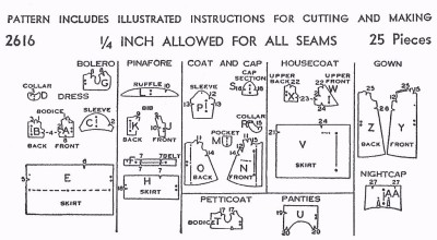 Vintage Knitting Patterns - Dolls Clothes (part 1 - A to D)