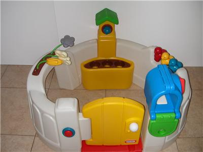 little tikes activity center garden child play center