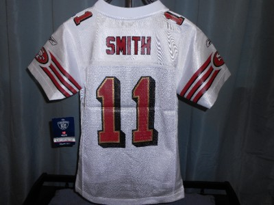 Alex Smith on New Alex Smith San Francisco 49ers Youth Xlarge Xl 18 Reebok White