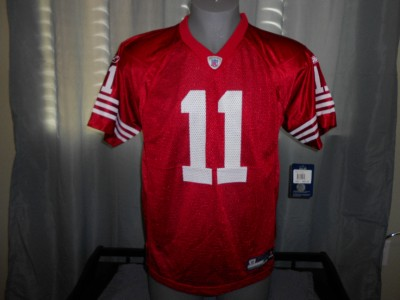 Alex Smith on New Alex Smith  11 San Francisco 49ers Youth Xlarge Xl 18 Reebok Red