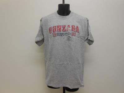 New ncaa gonzaga bulldogs mens sizes m 2xl shirt ebay for Men s shirt sizes explained
