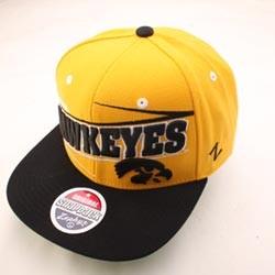 IOWA-HAWKEYES-NCAA-SNAPBACK-HAT-CAP-ZIGZAG