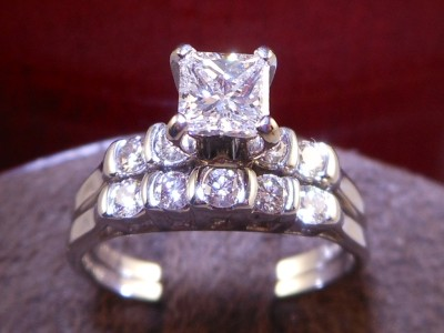 Shane Company Wedding Rings on Shane Co  Certified Colorless Princess Cut Diamond Engagement Ring