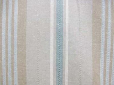 NEW 50 TIBURON STRIPE Classic Fabric Shower Curtain