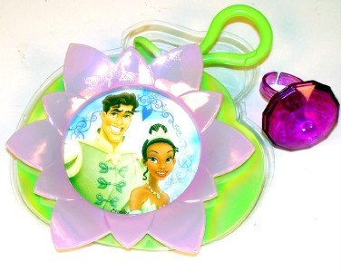 & Frog Prince Naveen Cake Topper/Decor Lily Pad clip, RING