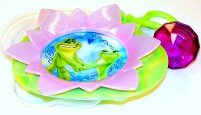 Cake Images With Name Naveen : Disney Princess Tiana & Frog Prince Naveen Cake Topper ...