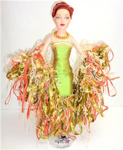 Ooak dressed to thrill tiny kitty tonner 10 doll san antonio texas - Madame coquette ...