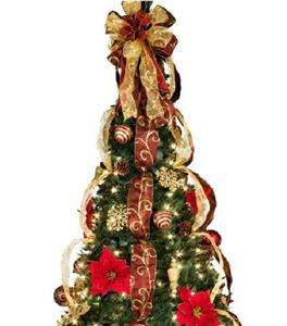 Collapsible Christmas Tree With Lights