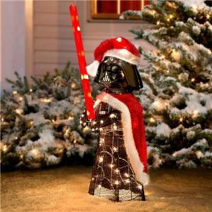 28 Lighted Pre Lit Star Wars Darth Vader Christmas