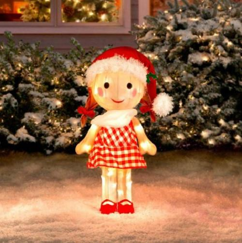 Rudolph Bumble Outdoor Christmas Decorations : Rudolph the red nosed reindeer friends tinsel outdoor