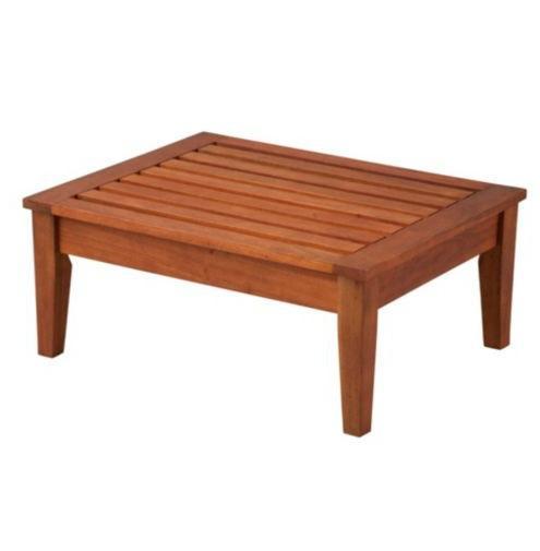 Outdoor Deck Patio Eucalyptus Deep Seat Furniture Natural Or Espresso Ebay