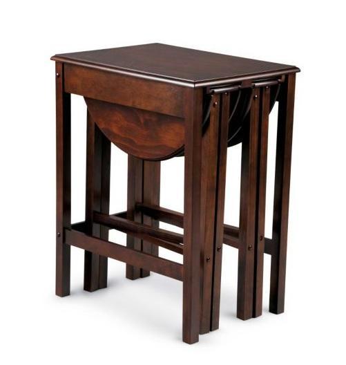 3 piece nesting end side accent table set living room furniture 7 color choices ebay. Black Bedroom Furniture Sets. Home Design Ideas