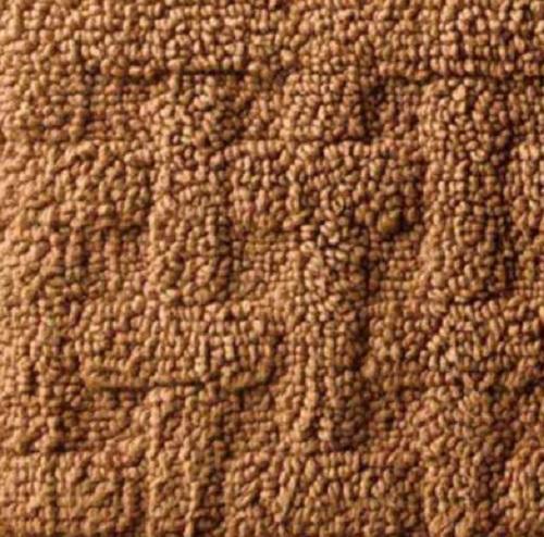 NON SLIP 100% Cotton Washable BASKETWEAVE 24x36 AREA RUG