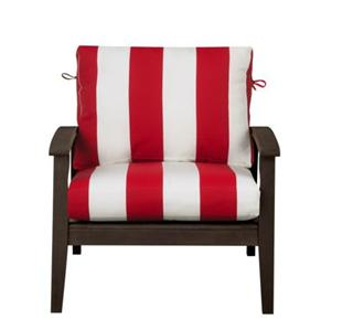 """24""""X24"""" Outdoor Patio Deep Seat Furniture Cushion SET RED"""