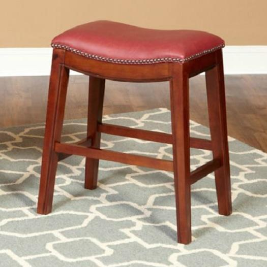 30quot FAUX LEATHER NAILHEAD SADDLE STYLE BAR COUNTER STOOLS  : 808300180o from ebay.com size 525 x 526 jpeg 32kB