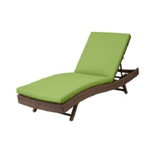76 x23 1 2 outdoor sun lounger chaise cushion key lime for 23 w outdoor cushion for chaise