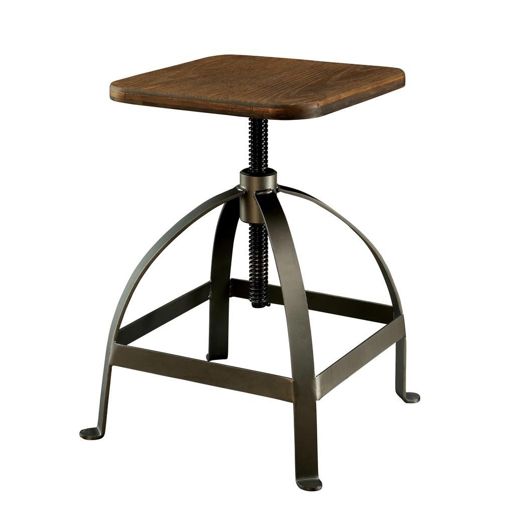MODERN RUSTIC INDUSTRIAL ADJUSTABLE BAR STOOL Counter  : 845972973o from www.ebay.com size 1024 x 1024 jpeg 53kB