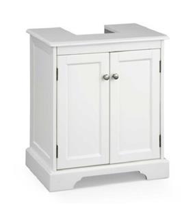 Classic Modern Pedestal Sink Bathroom Storage Cabinet