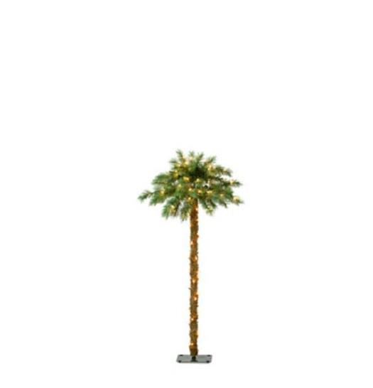 Outdoor Lighted Pre Lit Tropical Palm Tree Patio Garden