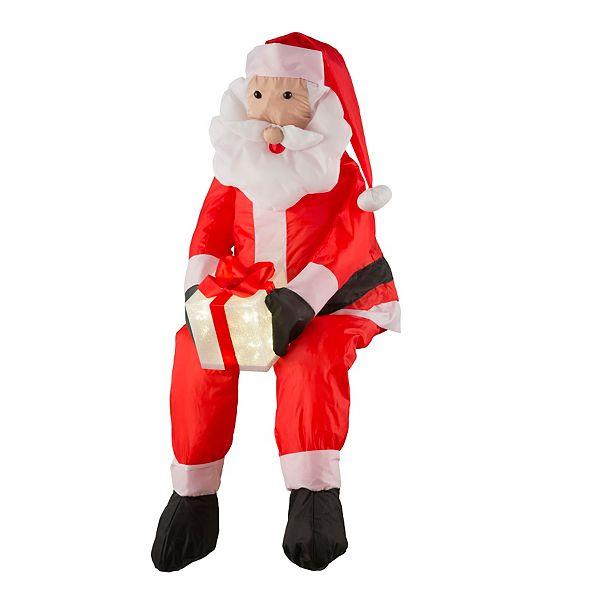 Santa Claus Lawn Decorations: Stuffable Lighted Santa Claus Or Snowman Decoration
