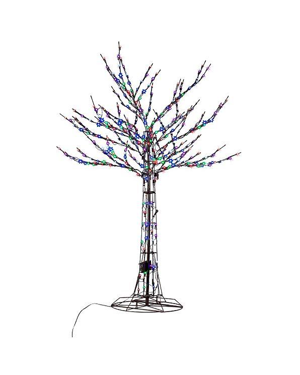 pre lit led light show color changing tree outdoor christmas yard decor 2 sizes ebay. Black Bedroom Furniture Sets. Home Design Ideas