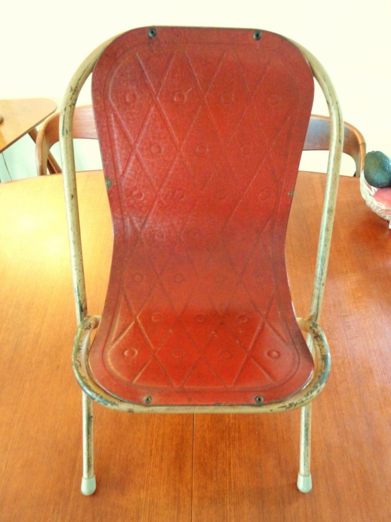Childs sebel chair retro vintage eames danish baby 60s 70s for Vintage 70s chair