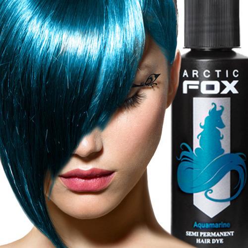 ARCTIC FOX 100% Vegan Semi Permanent Hair Dye 4 oz or 8-oz *   15 Vibrant Colors