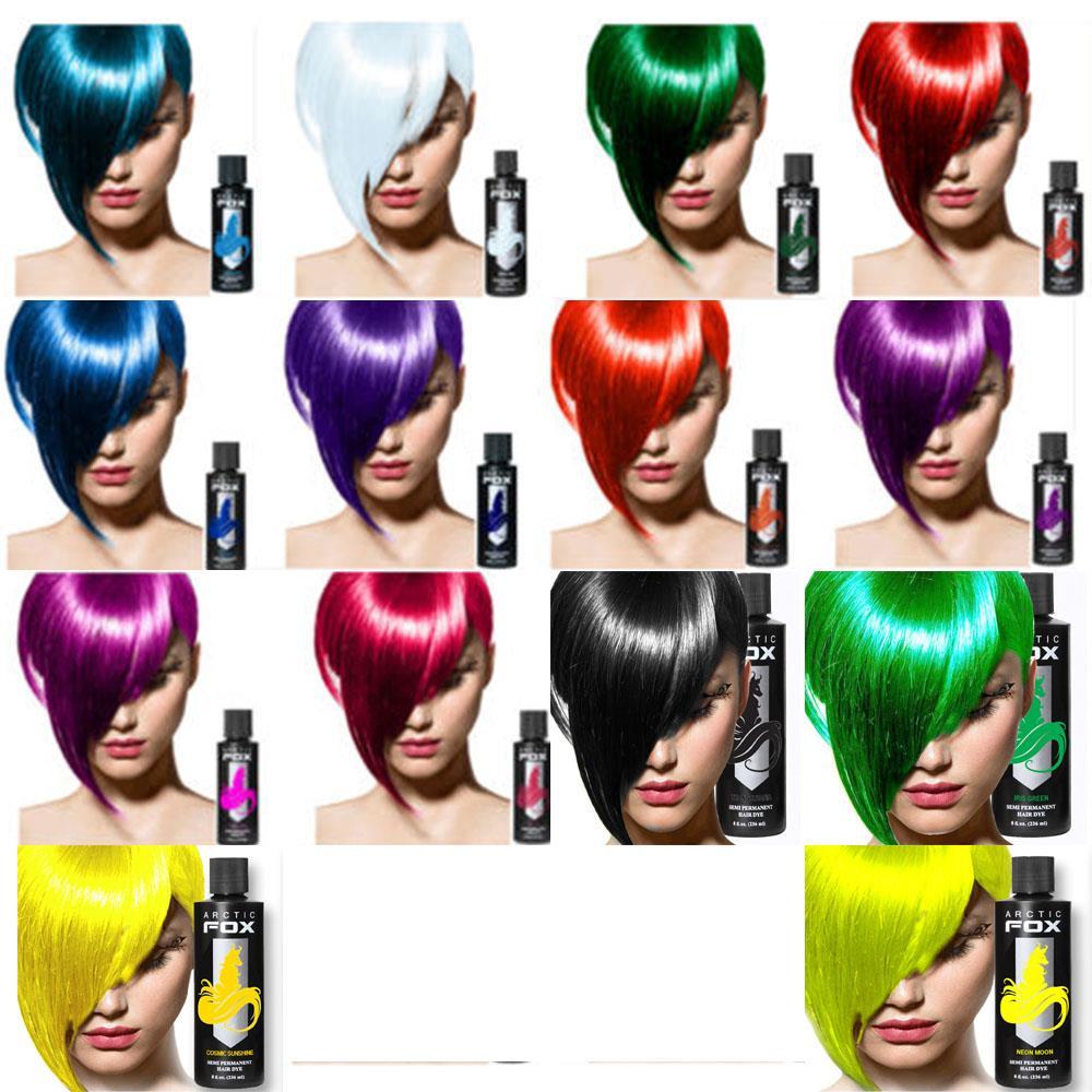 Arctic Fox 100 Vegan Semi Permanent Hair Dye Hair Color 4