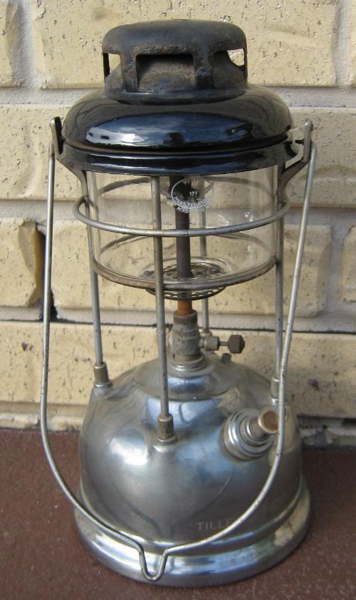 Old Tilley England Vintage Kero Lamp Oil Lantern 1950s