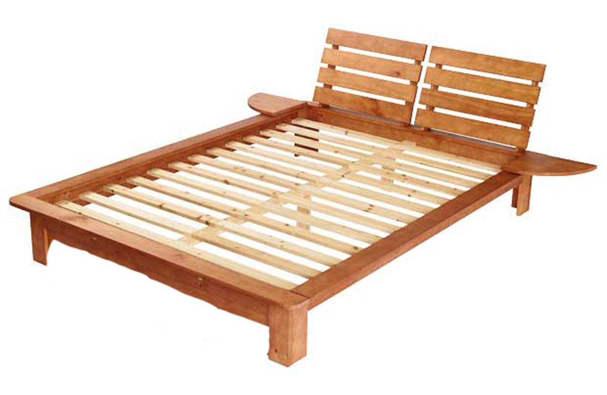 New Nordic 6ft Super King Size Pine Bed Frame Faux