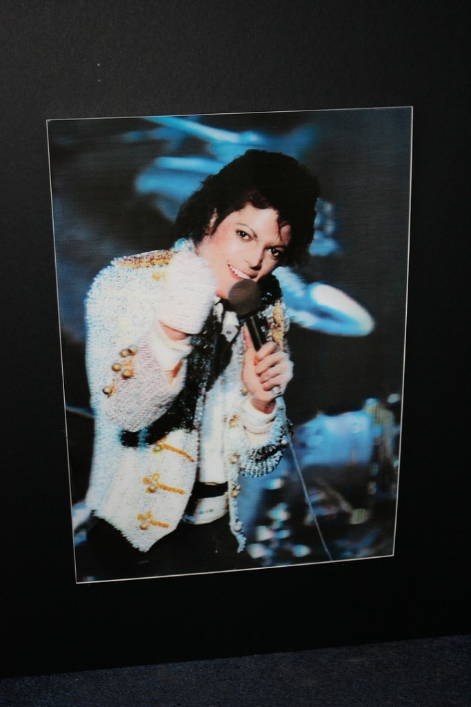 Image Is Loading Michael Jackson Large 40x50cm Portrait 3D Images Wall