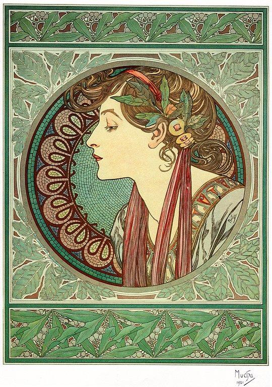 the work of alphonse mucha art essay Art nouveau, literally meaning 'new art', had many known aliases later on,   individual work essay – alphonse mucha and milton glaser.