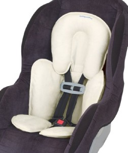 new snuzzler infant head and body support baby car seat stroller bouncer ivory ebay. Black Bedroom Furniture Sets. Home Design Ideas