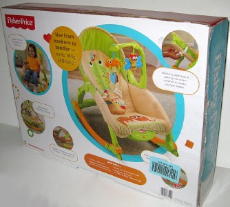 This listing is for a brand new Fisher Price Newborn to Toddler Rocker ...